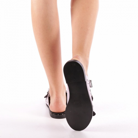 Papuci dama Luciana mov2
