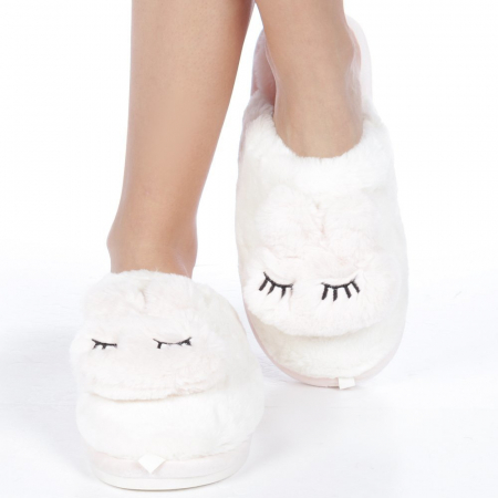 Papuci dama Midori roz deschis1