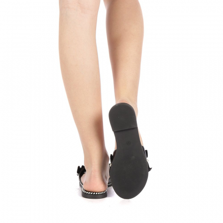 Papuci dama Milios negri3