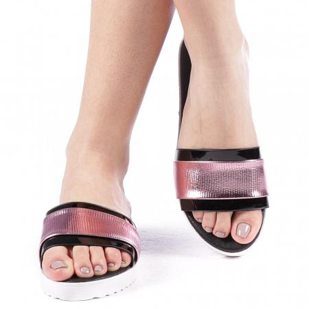Papuci dama Minoda roz1