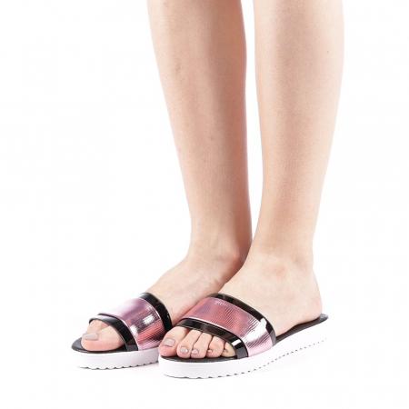 Papuci dama Minoda roz2