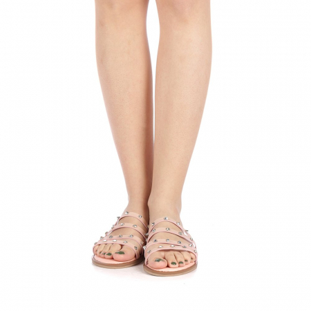 Papuci dama Mogana roz4