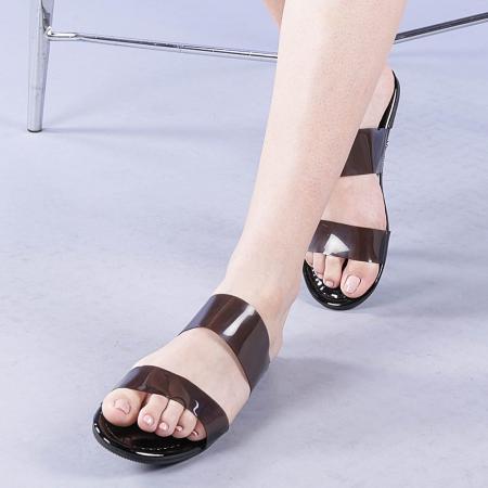 Papuci dama Morna negri0