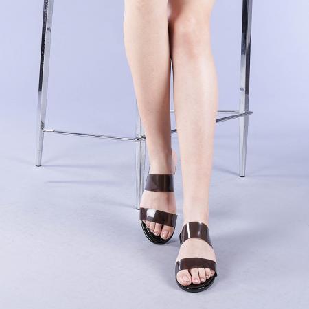 Papuci dama Morna negri1