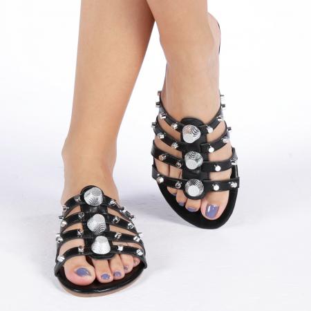 Papuci dama Penelope negri4