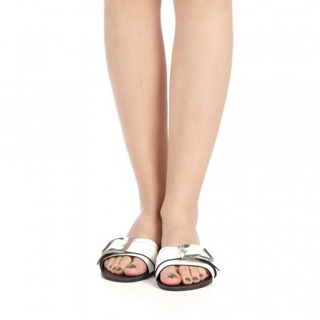 Papuci dama Zimar albi4