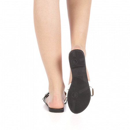 Papuci dama Zimar albi3
