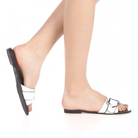 Papuci dama Zimar albi0