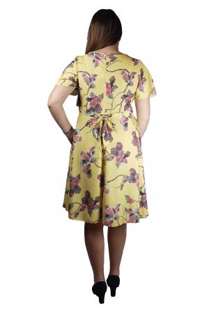 Rochie Alice cu imprimeu floral3