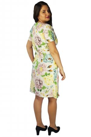 Rochie Laura cu imprimeu floral2