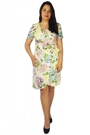 Rochie Laura cu imprimeu floral3