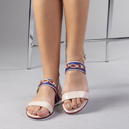 Sandale dama Lucila bej0