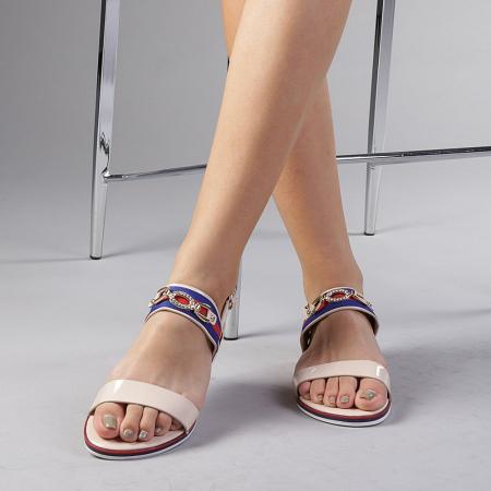 Sandale dama Lucila bej1