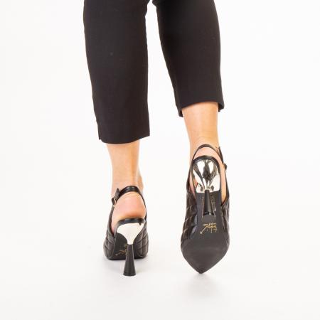 Sandale dama Sahar negre3