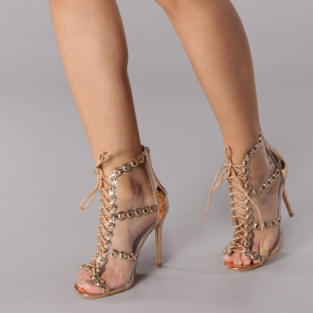 Sandale dama Valerie sampanie3