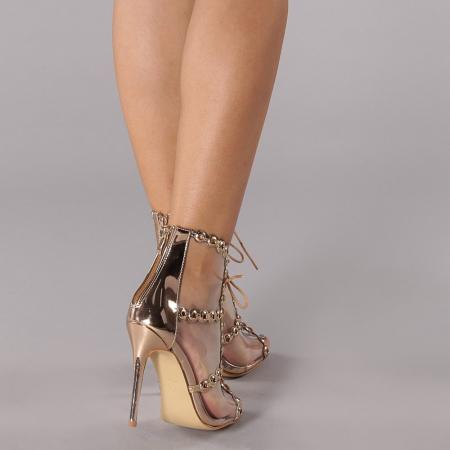 Sandale dama Valerie sampanie2