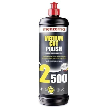 Polish, Menzerna, 2500 medium cut, Eliminate Zgarieturile, 1L 0
