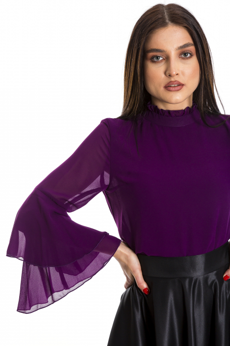 Bluza Lucy pruna [0]