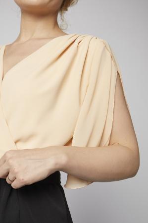 Rochie Kate piersica cu negru [2]