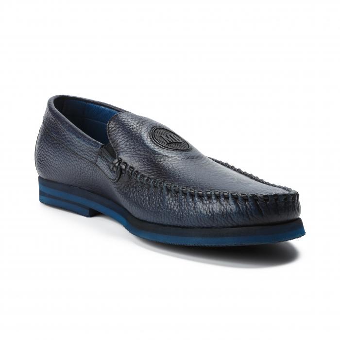 Pantofi barbati Mario Bruni bleumarin 1