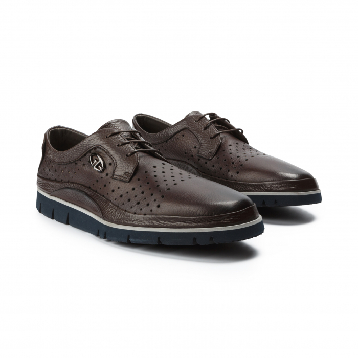 Pantofi barbati Gianfranco Butteri maro 0