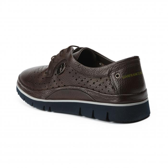 Pantofi barbati Gianfranco Butteri maro 2