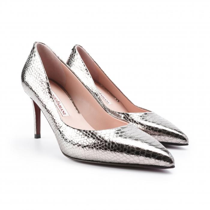 Pantofi dama Giorgio Fabiani argintii 0