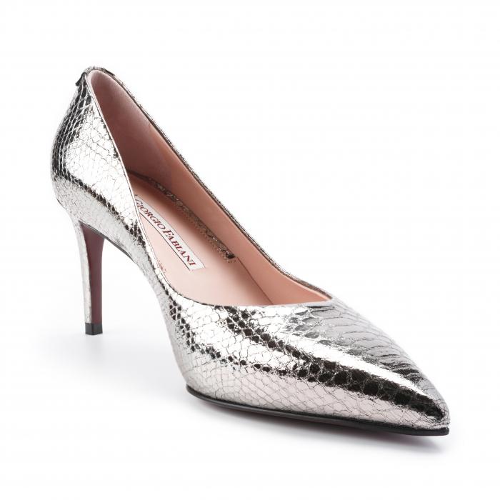 Pantofi dama Giorgio Fabiani argintii 1