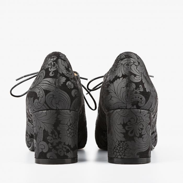 Pantofi dama Giorgo Fabiani negri 2