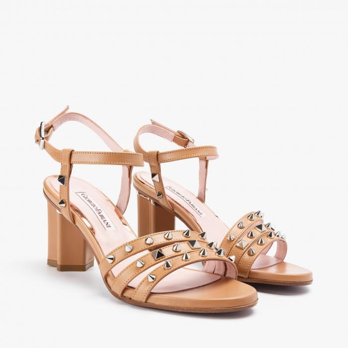 Sandale dama Giorgio Fabiani bej 0