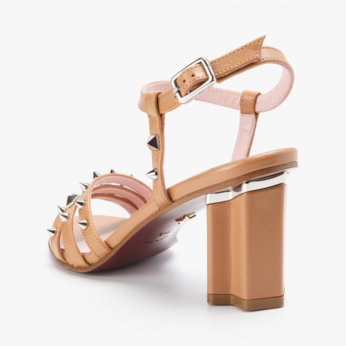 Sandale dama Giorgio Fabiani bej 2