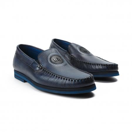 Pantofi barbati Mario Bruni bleumarin0