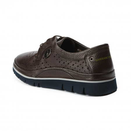 Pantofi barbati Gianfranco Butteri maro2