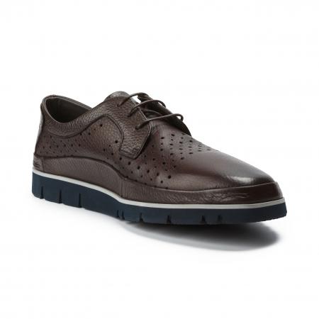 Pantofi barbati Gianfranco Butteri maro1