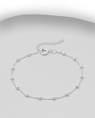 Bratara din argint cu sfere 1B-424 0