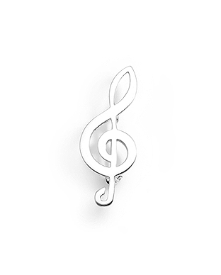Brosa cheia sol din argint 1BS-165 - Elmio.ro 0