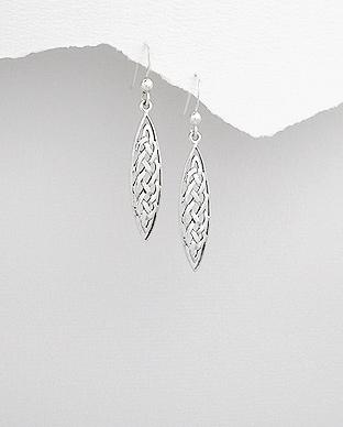 Cercei argint model celtic 1C-222 - bijuterii celtice 0