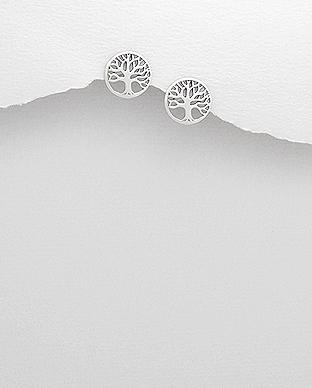 Cercei Tree of Life din argint 1C-335 0