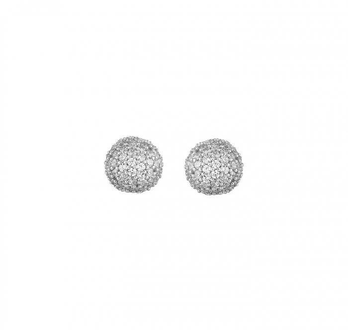 Cercei mici din argint cu zirconiu Layla 2CCO-077 [0]