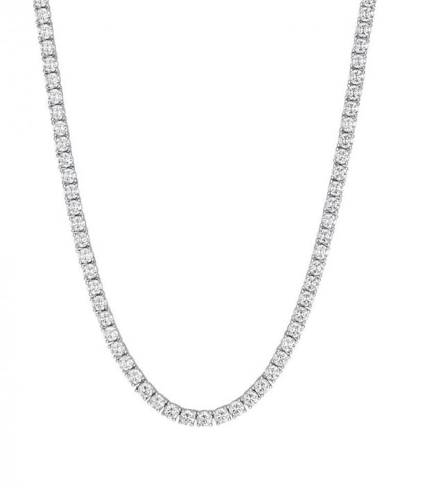 Choker Tennis din argint cu cristale CL-2005M [0]