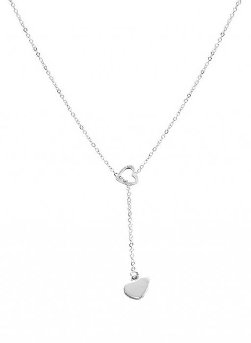 Colier LOVE Solitaire Lariate din argint CL13MAF-106 0
