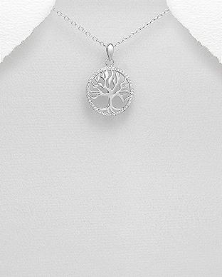 Copacul vietii pandantiv din argint 1P-77 0