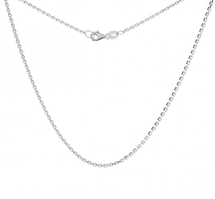 Lant din argint 69 cm placat cu rodiu 2M424-04 0