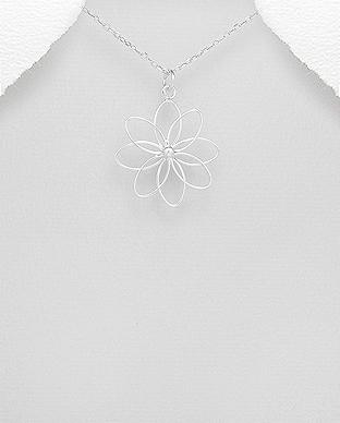 Pandantiv din argint - floarea vietii 1P-340 0