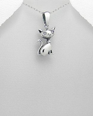 Pandantiv din argint pisicuta Briana 1P-321 0
