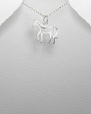 Pandantiv cal din argint 1P-318 0