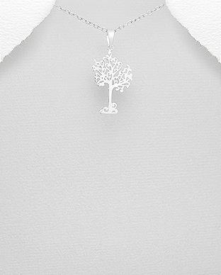 Pandantiv arbore din argint 1P-128 0