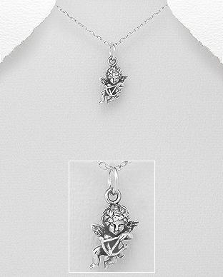 Pandantiv Cupidon din Argint 1P-299 0