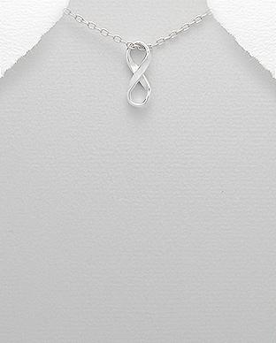 Pandantiv infinity din argint 1P-174 0
