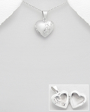 Pandantiv pentru poza inima din argint 1P-173 - Elmio.ro [0]